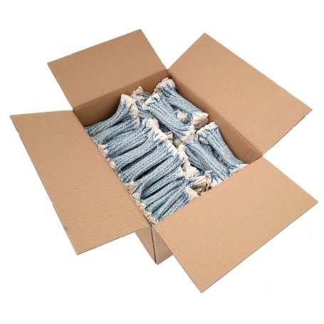 Carton 1000 Mèches Bleues de Nettoyage Arme Calibres 9mm à 9,5mm