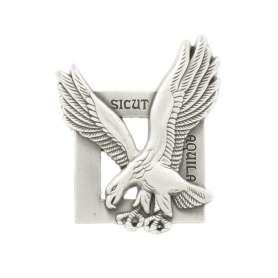 Insigne de Brevet Metal Commando de l'Air SICUT AQUILA