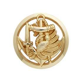 Insigne de Béret Or PARA COLO avec Cercle
