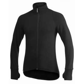 Ullfrotté Full Zip Jacket 400 Noir