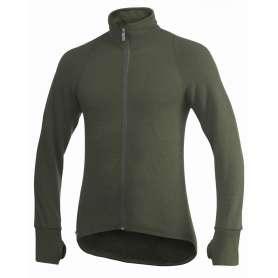 Ullfrotté Full Zip Jacket 400 Vert