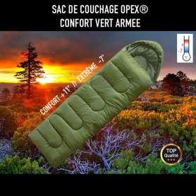 Sac De Couchage OPEX Confort Vert