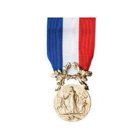 Médaille Ordonnance COURAGE ET DÉVOUEMENT BRONZE