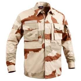 Chemise de Combat Militaire Cam Daguet