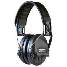 Casque Anti-Bruit Suprême Pro Serre-Tête Noir