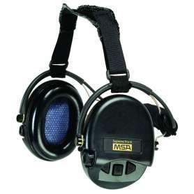 Casque Anti-Bruit Suprême Pro Serre-Nuque Noir