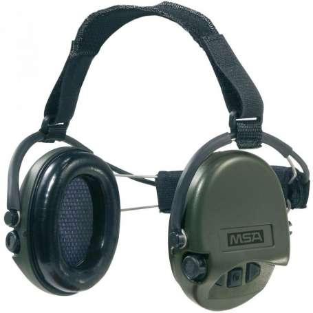 Casque Anti-Bruit Suprême Pro-X Serre-Nuque Vert OD