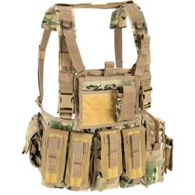 D5 - Chest Rig MOLLE RECON MultiCamo