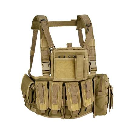 D5 - Chest Rig MOLLE RECON Coyote Tan