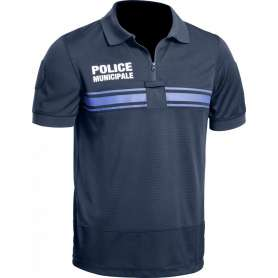 Polo Police Municipale GPB P.M. ONE Bleu Marine