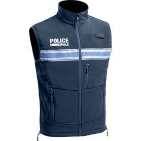 Gilet Softshell Police Municipale P.M. ONE