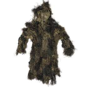Ghillie Parka Anti-Feu Basic Woodland