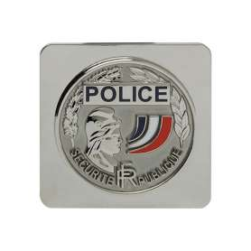 Médaille Police Nationale Support Carré