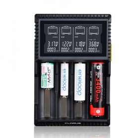 Klarus Chargeur pour 4 Batteries Rechargeables