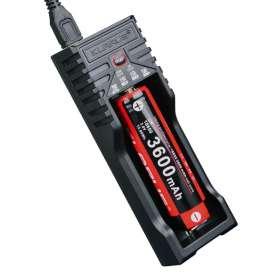 Klarus Chargeur pour 1 Batterie Rechargeable