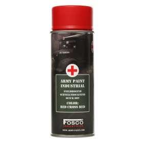 Bombe de Peinture Red Cross Red
