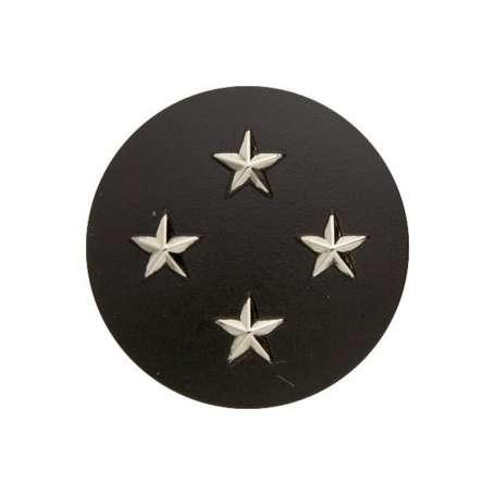 Insigne de Béret Argent Général de Corps d'Armée 4 Étoiles