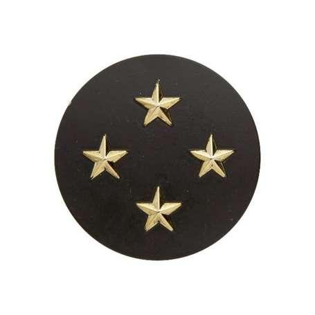 Insigne de Béret Or Général de Corps d'Armée 4 Étoiles