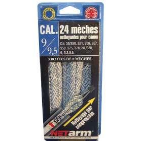 Blister 24 Mèches Bleues Calibre 9 à 9,5mm