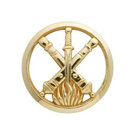 Insigne de Béret Or Service Armement des Armées