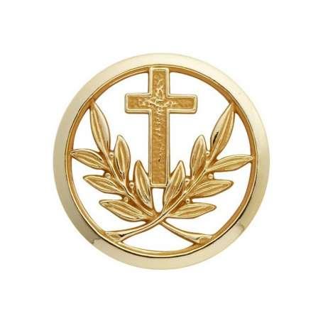 Insigne de Béret Or Aumonier Catholique