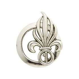 Insigne de Béret Argent Légion 1er R.E.C.