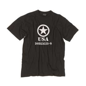 Tee-Shirt ALLIED STAR Noir