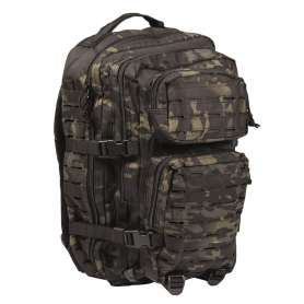 Sac ASSAULT PACK II Laser Cut Multitarn Black 36L