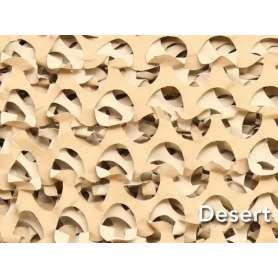 Filet de Camouflage CRAZY CAMO Désert 2,4 x 3,0m