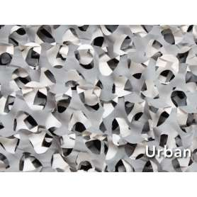 Filet de Camouflage CRAZY CAMO Urban Gris 2,4 x 3,0m