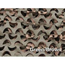 Filet de Camouflage BASIC LIGHT Woodland 2,4 x 6m