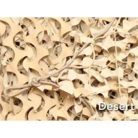Filet de Camouflage BASIC MILITARY Désert 3 x 6m