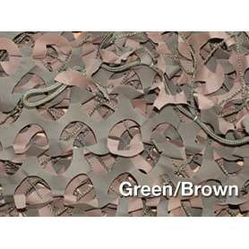 Filet de Camouflage BASIC MILITARY Woodland 3 x 6m