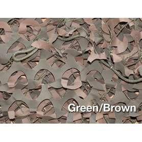 Filet de Camouflage BASIC MILITARY Woodland 3 x 3m