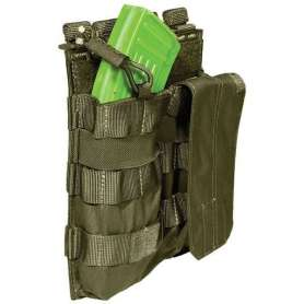 Porte-Chargeur Double AK Bungee Tac OD