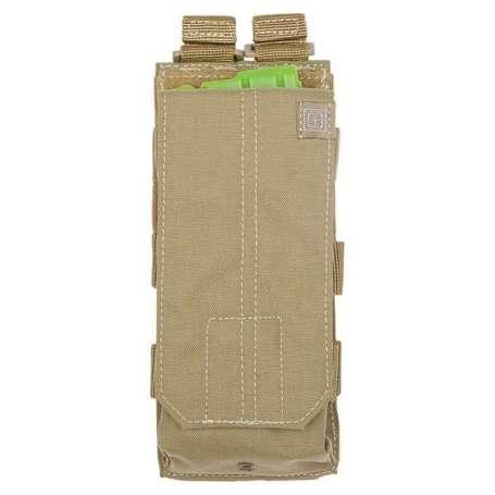 5.11 Porte-chargeur Simple AK Bungee Sandstone