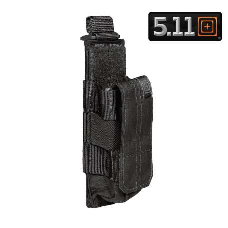 5.11 Porte-Chargeur Simple PA Bungee Noir