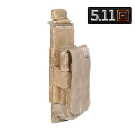 5.11 Porte-Chargeur Simple PA Bungee Sandstone