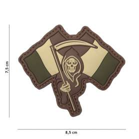 Patch 3D PVC French Reaper Woodland