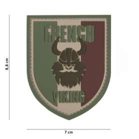 Patch 3D PVC French Viking Woodland