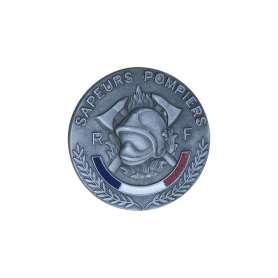 Médaille Sapeurs-Pompiers Relief 45mm