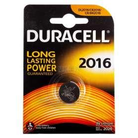 Pile Lithium CR2016 3V Duracell