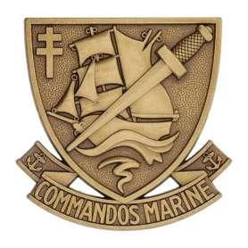 Insigne de Béret Commandos Marine Boussemart 2012 (non contractuelle)