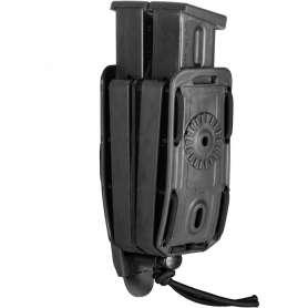 Porte-Chargeur Double PA 8BL02 Bungy Noir Vega Holster