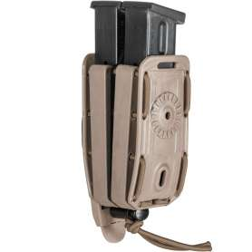 Porte-Chargeur Double PA 8BL02 Bungy Tan Vega Holster
