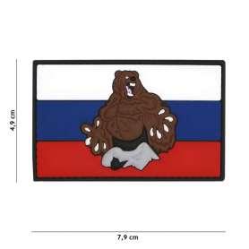 Patch 3D PVC Russia Bear