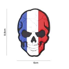 Patch 3D PVC Crâne Fendu France
