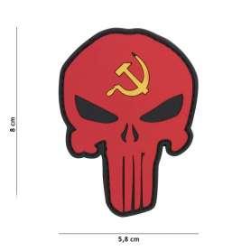 Patch 3D PVC Punisher URSS