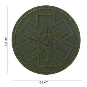 Patch 3D PVC Para Medic vert