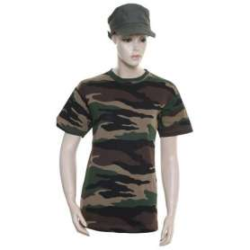 Tee-Shirt Militaire TS143 Cam CE